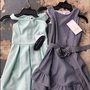 NWT 7T dresses! Purchased at Dillard's.